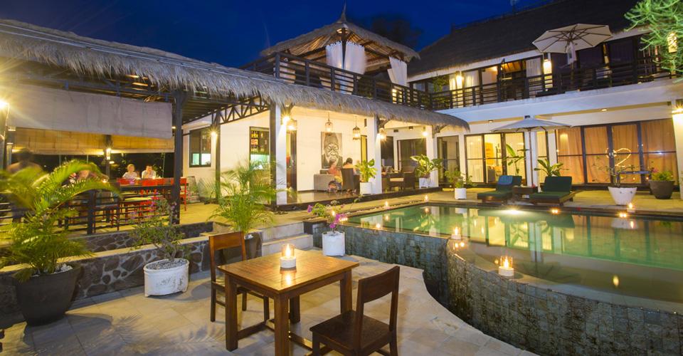 view gili trawangan hotels