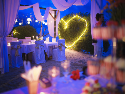decoration gili wedding package